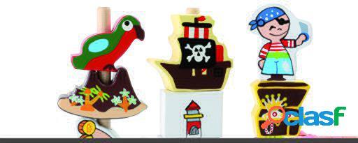 Legler Juego de meter piratas