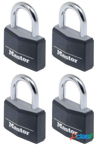 Masterlock Candado aluminio negro