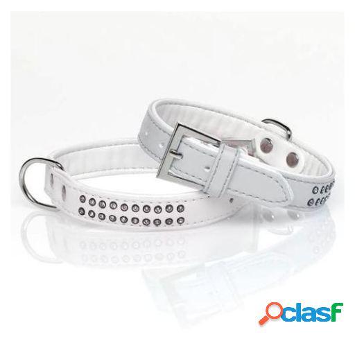 Mgz Alamber Collar Diamante 2 Filas 120 X 2 Cm Blanco