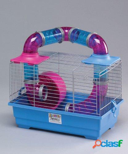 Mgz Alamber Jaula para Hamster Tubing