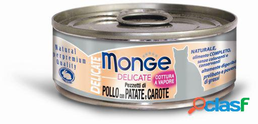 Monge Wet Cat Pollo, Zanahorias y Patatas 80 GR