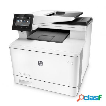 Multifuncion hp wifi con fax lasercolor pro m477fdw -