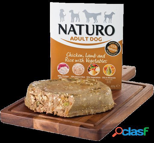 Naturo Adult Pollo, cordero y arroz 400 gr 400 GR