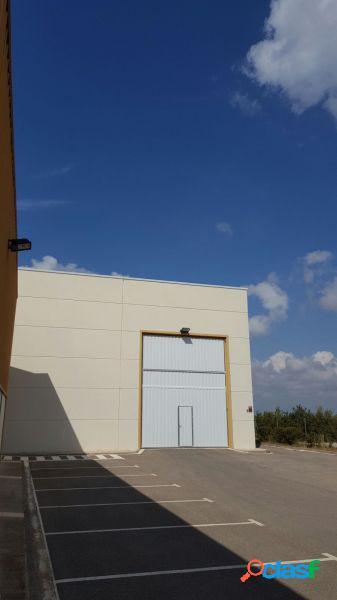 Nave industrial de 500 m2 el alquiler