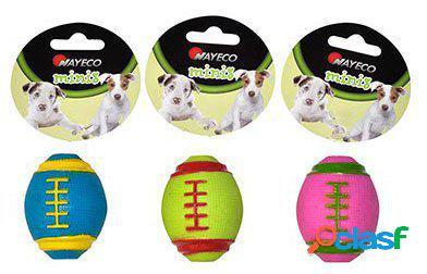 Nayeco Juguete para Perros Pequeños Pelota de Rugby 100 gr