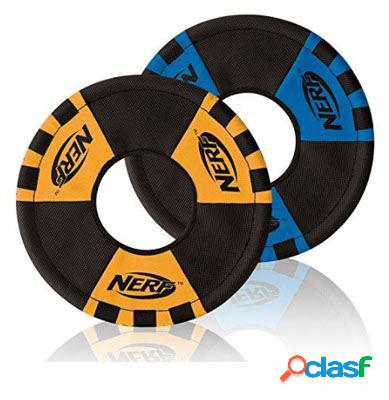 Nerf Dog Trackshot Toss And Tug Disco Azul/Naranja