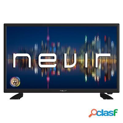 """Nevir 7431 Tv 24"""" Led Hd Usb Vga 12V Hdmi Negra, original de"""