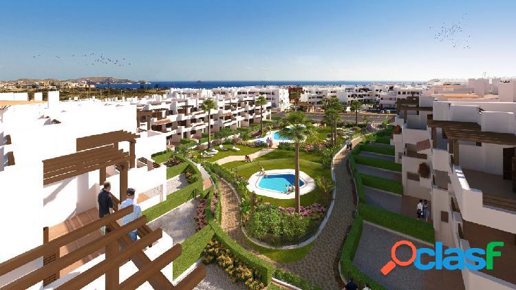 Nueva obra con 1 dormitorio cerca del mar en una urbanizcion