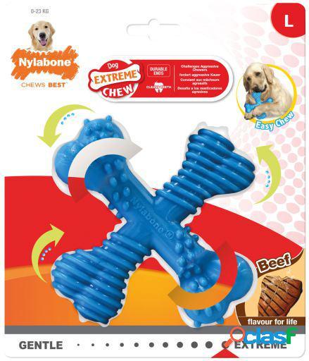 Nylabone Dura Chew X Bone para Perros 190 GR