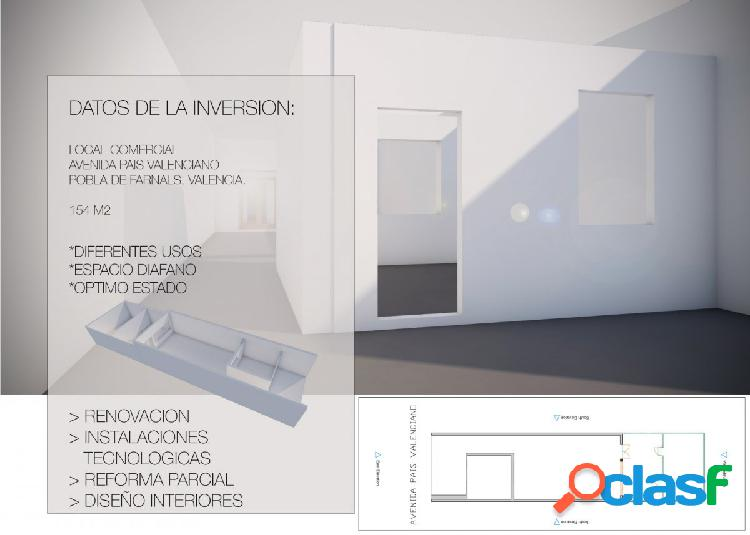 OPORTUNIDAD DE INVERSION, Local Comercial en Pobla de
