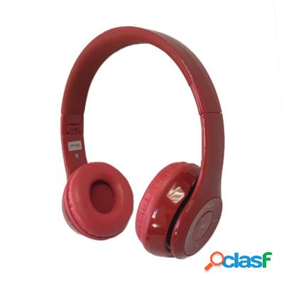 Omega Freestyle casco Bluetooth Fh0915R Rojo/Rojo, original