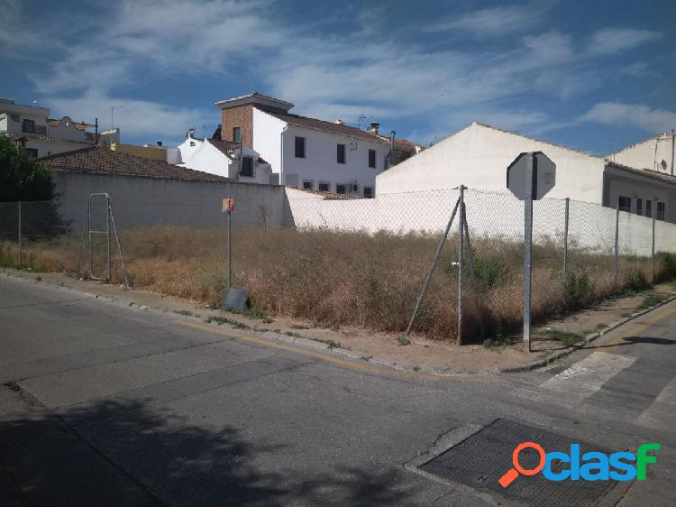Parcela urbana de 300 m2 en Churriana de la Vega