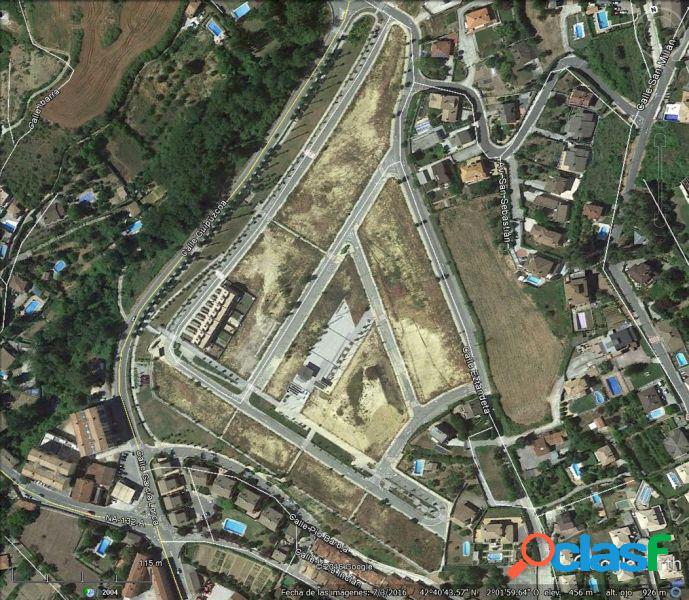 Parcelas urbanizadas en Estella