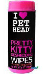 Pet Head Pet Head Pretty Kitty Deshedding Toallitas 50