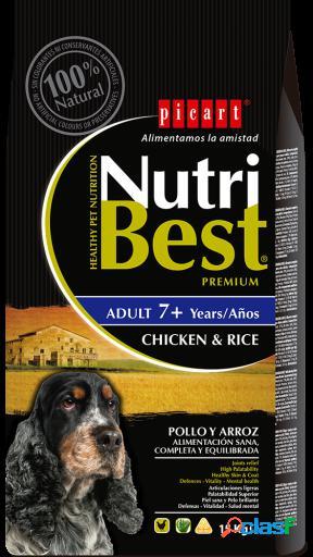 Picart Nutribest Senior Pollo y Arroz 15 Kg