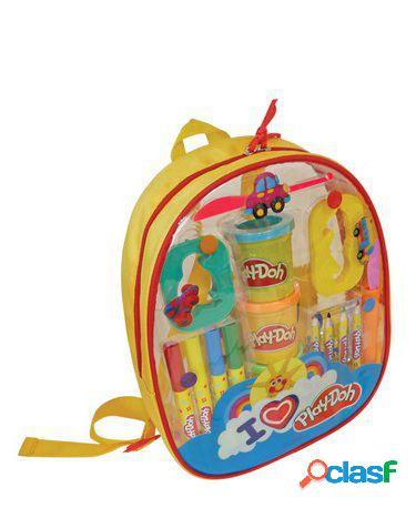 Play Doh Play-Doh Mi Primera Mochila Para Dibujar Y Crear