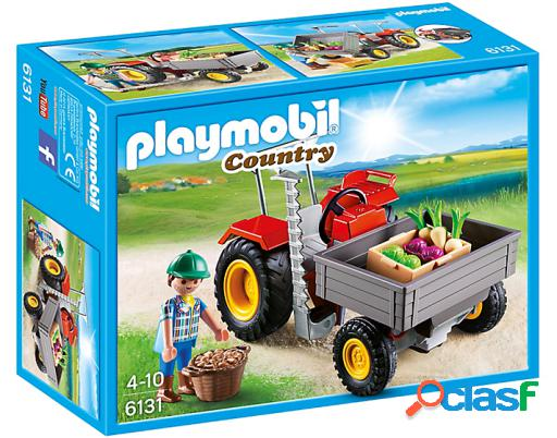 Playmobil Tractor De Carga 6131