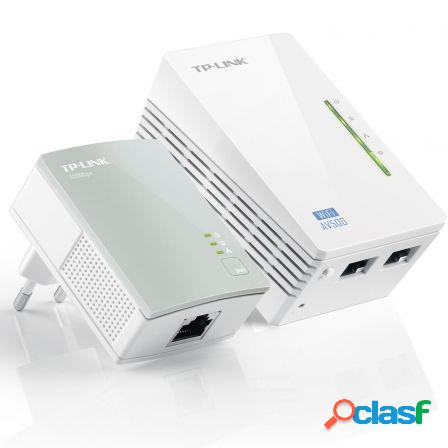 Plc/powerline tp-link tl-wpa4220kit kit extensor wifi av600