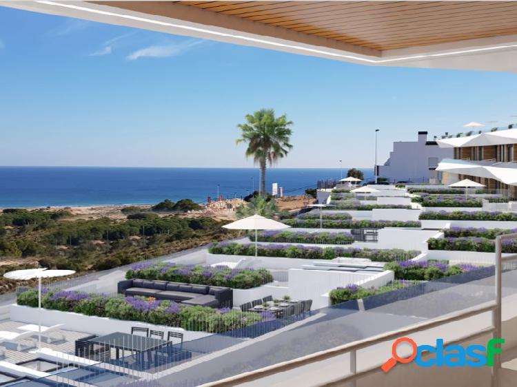 Precioso apartamento con vistas al mar en Los Arenales del