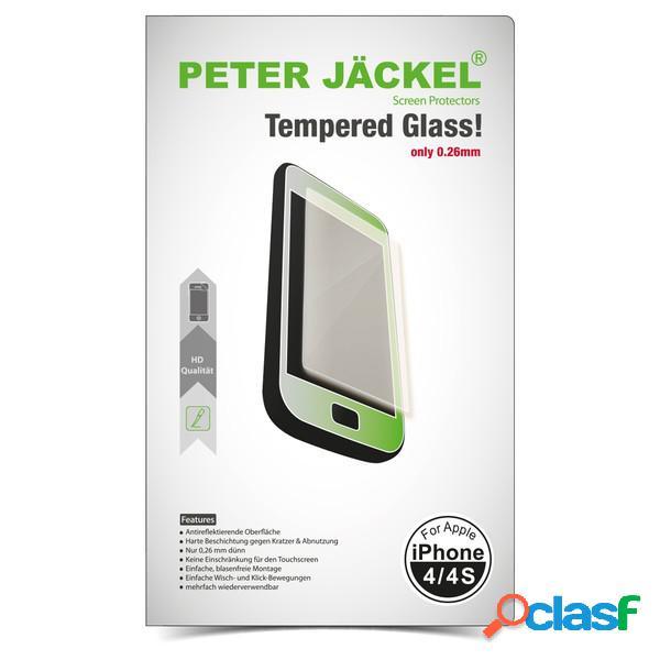 Protector de pantalla de cristal templado Peter Jackel Hd