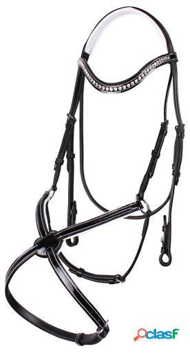 QHP Bridle aphrodite nose band Full