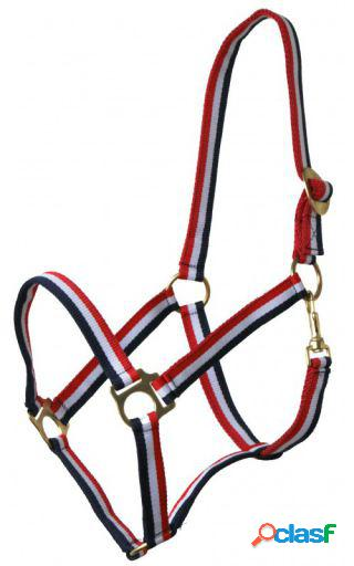 QHP Cabezada Rojo-blanco-azul full