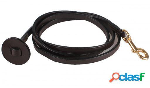 QHP Falabella Ramal de cuero marrón 1.80 m