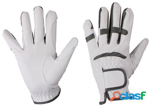 QHP Guante multi color blanco/gris XL