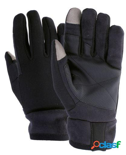 QHP Guantes touch negro S