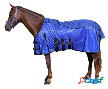 QHP Manta anti-moscas combo azul 175 cm