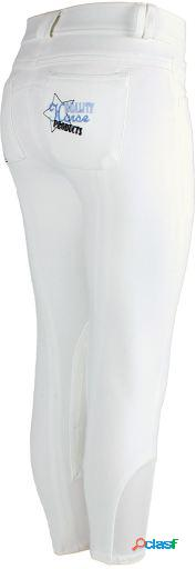 QHP Pantalón junior star blanco 152 cm