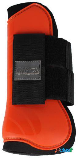 QHP Protector tendón naranja pony