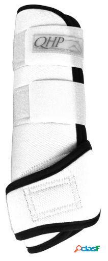 QHP Protectores Air de Neopreno Blanco XL