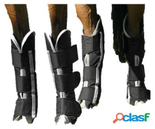 QHP Protectores patas luxury bag negro Cob