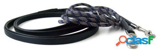 QHP Rienda/ cuerda negro pony