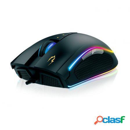 Raton gaming gamdias zeus p1 - sensor optico - 1600/12000dpi