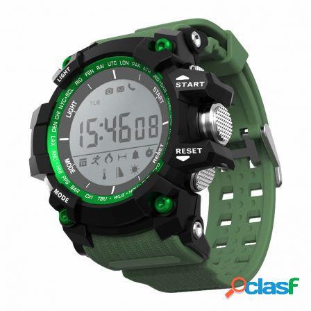 Reloj inteligente leotec green mountain - pantalla led