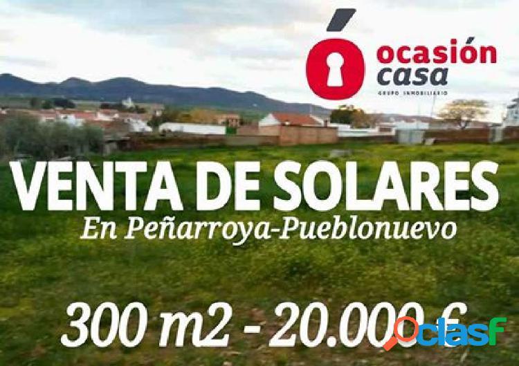 SOLAR EN PEÑARROYA POR TAN SOLO 20.000€