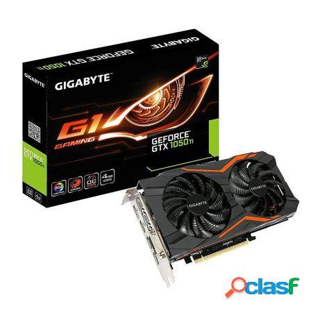 Tarjeta grafica gigabyte geforce gtx 1050 ti g1 gaming 4g -