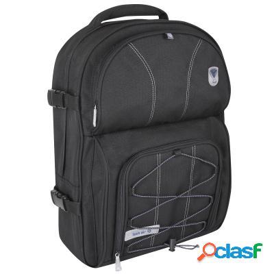 """Tech air Diseño mochila portátil 15. 6"""" negra, original de"""