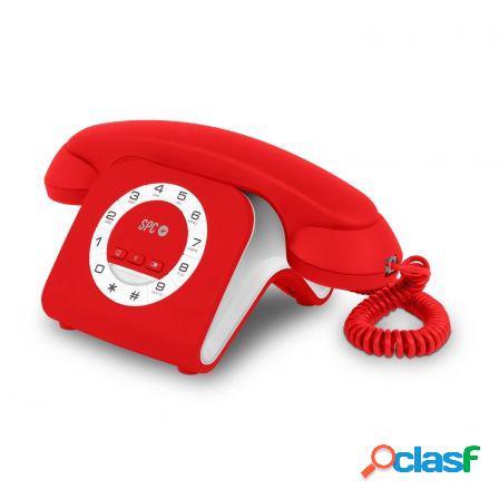 Telefono sobremesa spc retro elegance mini 3609r - indicador