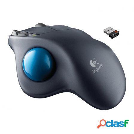 Trackball inalambrico logitech m570 negro usb 2.0 -