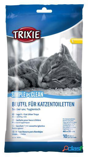 Trixie 10 bolsas para bandejas de gatos higiénica