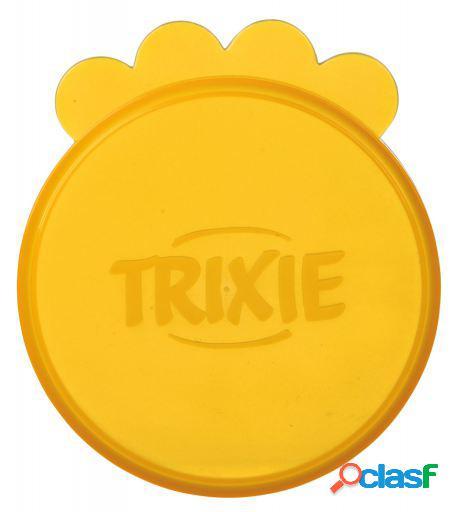 Trixie 3 Tapas Botes Comida Húmeda, Ø 7.5 centímetros,