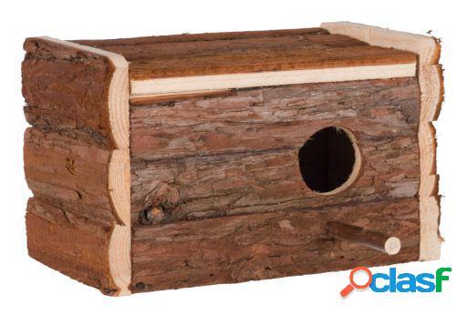 Trixie Caja Nido de Madera Natural 21x13x12 cm