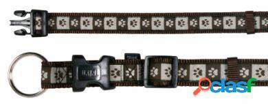 Trixie Collar Mod. Art Coffee 22-35 cm