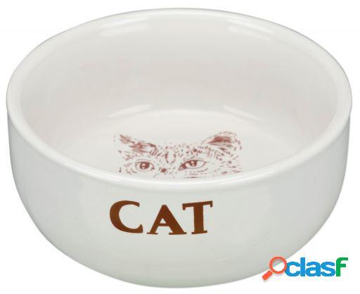 Trixie Comed. cerámico gatos, motivos, 0.3l diámetro 11cm,