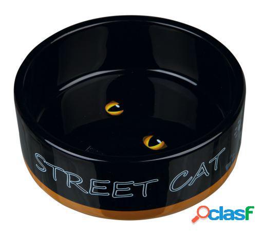 Trixie Comedero Cerámica Street Cat 300 ml