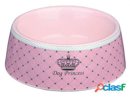 Trixie Comedero Cerámico Dog Princess Rosa