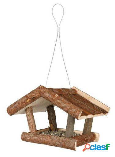 Trixie Comedero Pájaros Natura, Madera Pino 32x23x20 cm